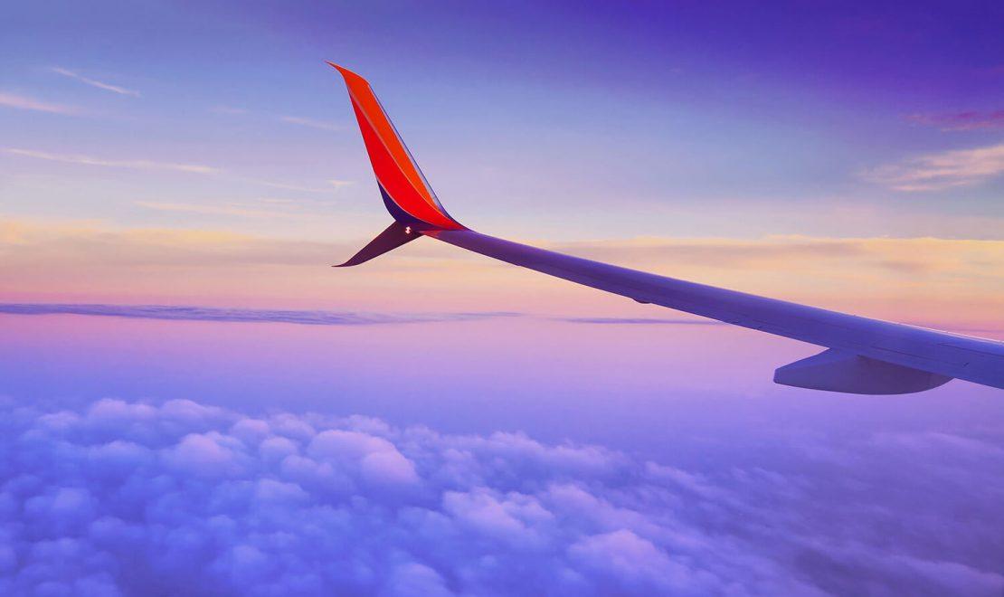 Big discounts on air travel in the fall season.